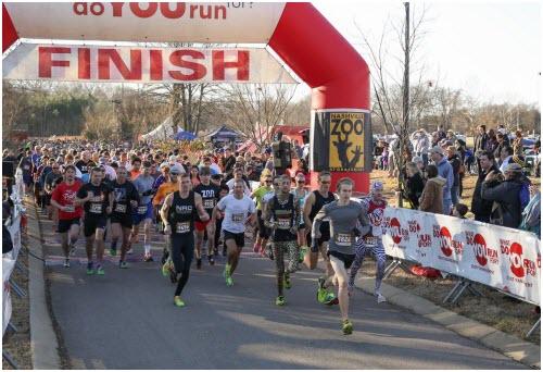 Zoo Run Run 5k Nashville TN