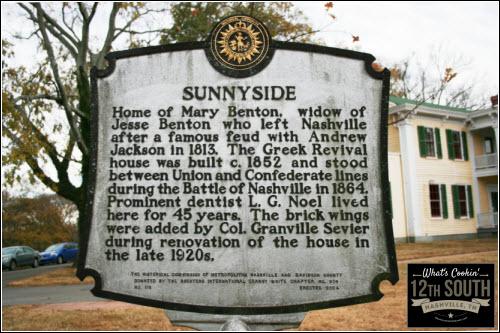 12th South Nashville History Marker