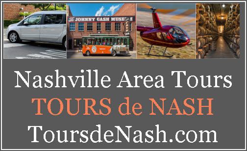 Tours de Nash Nashville Area Tours